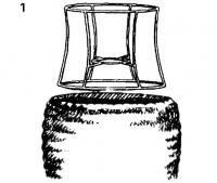 1. Проволочный абажур