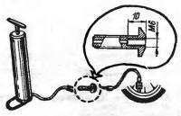 Адаптер для мото и вело насоса