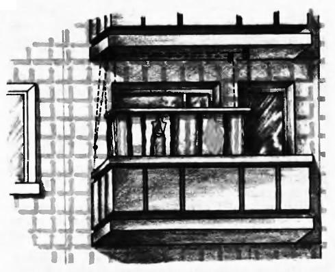 Балкон с сушилкой