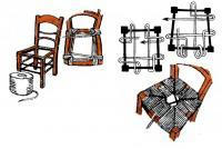Чиним старое сиденье стула