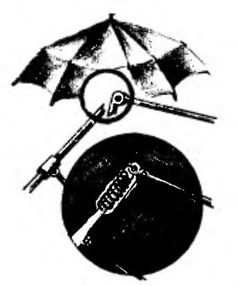 Чиним зонт-автомат