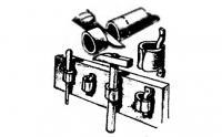 Держатель инструмента из резинового шланга