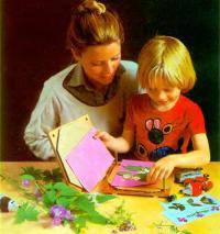 Для детей сушка гербария увлекательное занятие