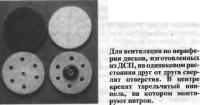 Для вентиляции по периферии дисков сверлят отверстия