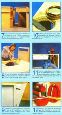 Этапы 6-12 по переоборудованию микроавтобуса