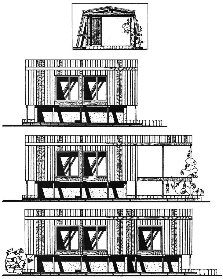 Этапы строительства домика