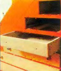 Фасадная доска выдвижного ящика из ДСП с облицовкой белого цвета