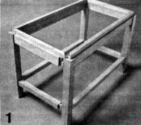Фото 1. Соединения деталей каркаса