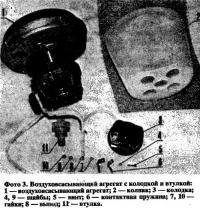 Фото 3. Воздуховсасывающий агрегат с колодкой и втулкой