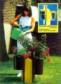 Фото цветочного вазона