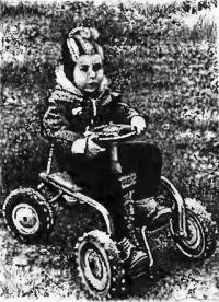 Фото детского веломобиля