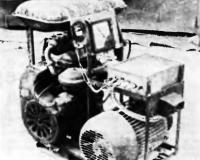 Фото двигателя с генератором