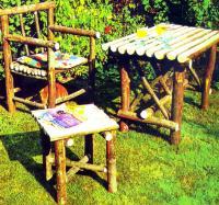 Фото готового садового гарнитура