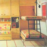 Фото готовой кровати