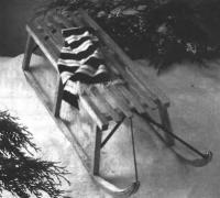 Фото готовых санок