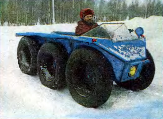 Снегоболотоход своими руками с мотоблока