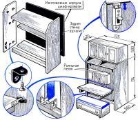 Изготовление корпуса шкафа-кровати
