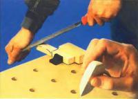 Изготовление «носика» седла