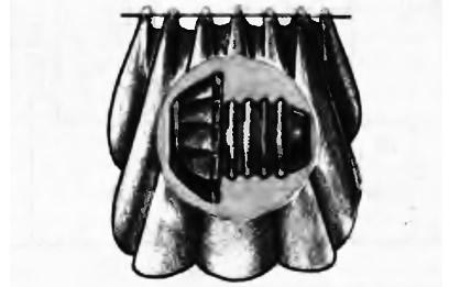 Кольца от шампанского для занавески