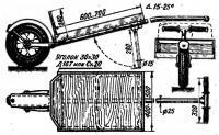 Конструкция и размеры тележки