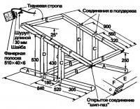Конструкция рамы кресла