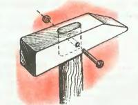 Крепление ручки к молотку