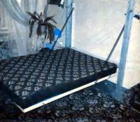 Кровать в разложенном состоянии