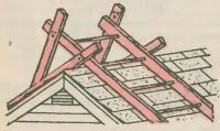 Лестница для ремонта кровли