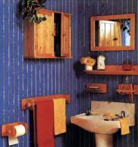 Мебелированная ванная комната
