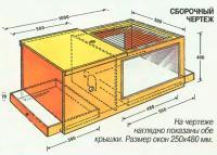 На чертеже наглядно показаны обе крышки