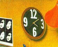 Настенные часы с «арабским» циферблатом