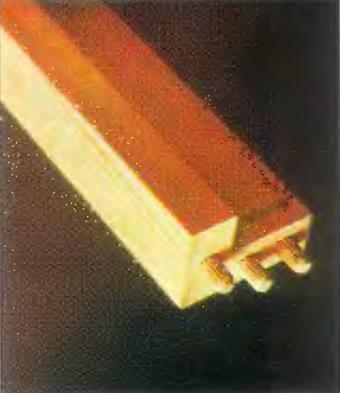 Несущие направляющие состоят из двух брусков 20x40 мм
