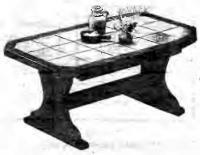 Облицовка прямоугольного стола