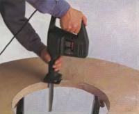 Обработка столешницы