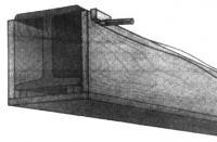 Обрезка доски обшивки с учетом неровностей потолка
