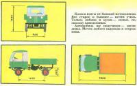Общие размеры грузовичка