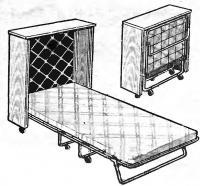 Общий вид кровати-раскладушки