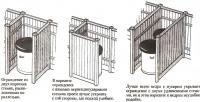 Ограда для мусоросборника