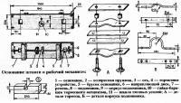 Основание штанги и рабочий механизм