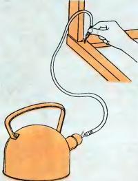 Отпариватель из чайника