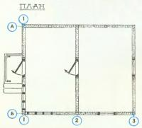 План домика
