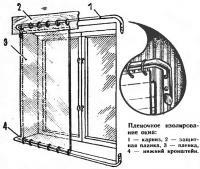 Пленочное изолирование окна