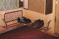 Подставка для обуви и шкафчик для щеток