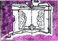 Полощет белье центрифуга