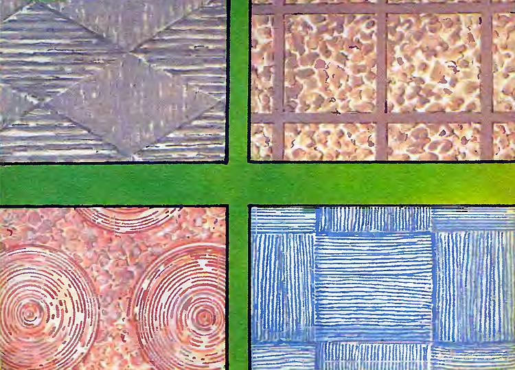 Примеры готовых рельефных рисунков