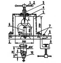 Приспособление для впрессовывания шипов в протектор