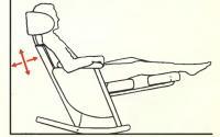 Пятки не имеют опоры, мышцы расслаблены