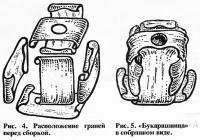 Расположение граней и букарашница в собранном виде