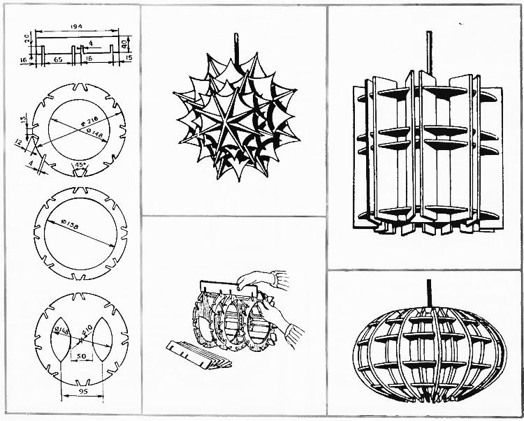 Размеры и формы светильников