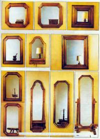 Разные обрамления зеркал